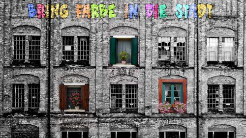 Baracke mit Urban Gardening