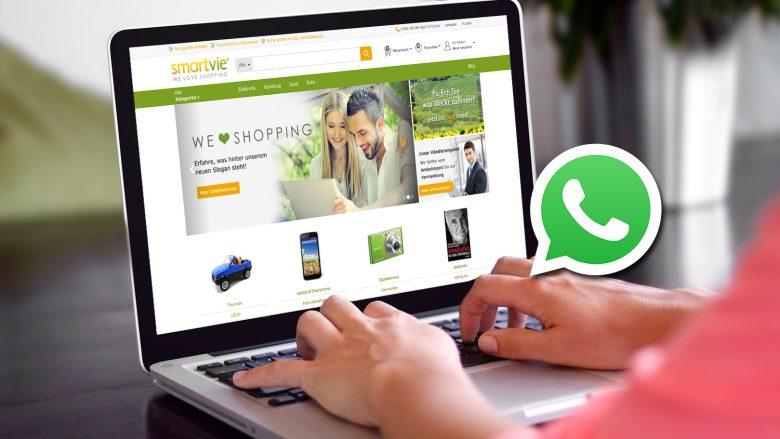 Kundenservice per WhatsApp bei smartvie