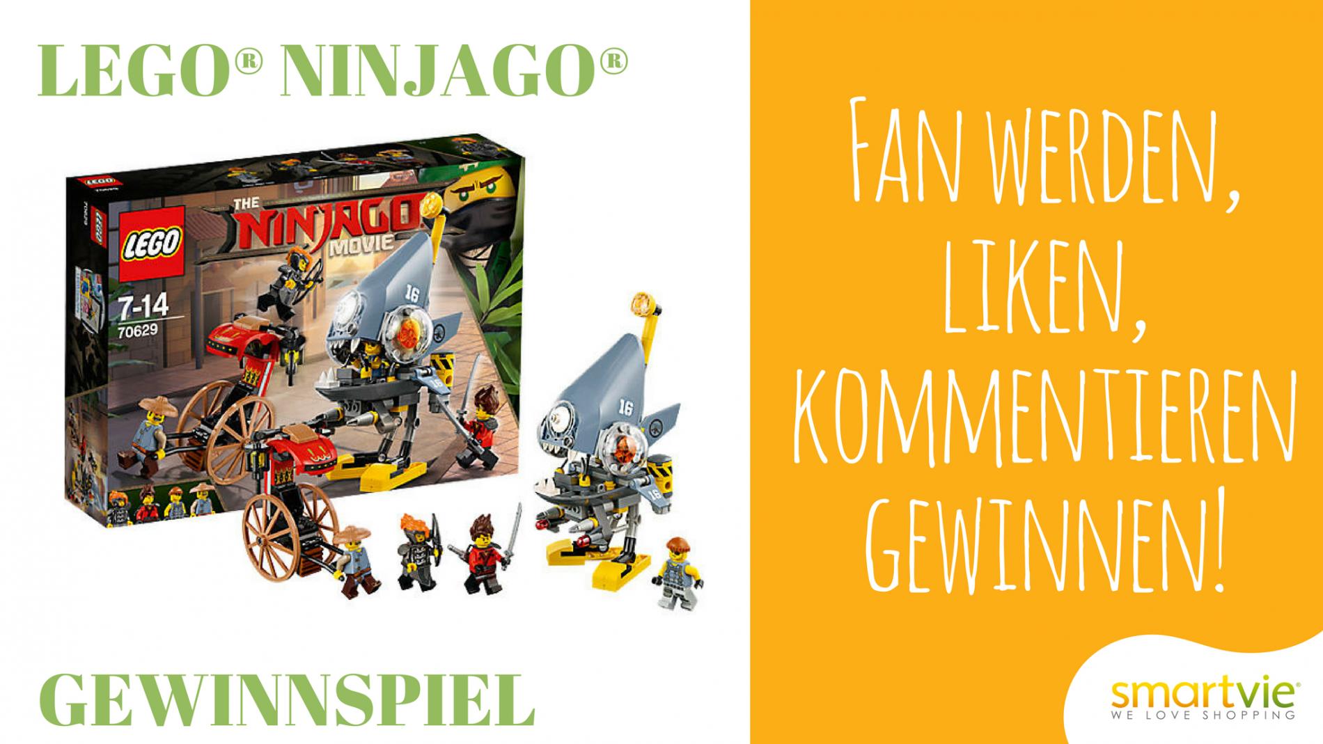 Lego Ninjago Gewinnspiel smartvie