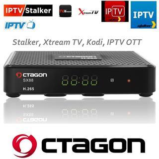 Octagon SX88 Sat Receiver DVB-S/S2 inkl. HDMI Kabel Full HD STALKER IPTV Preisvergleich