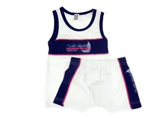 AM artmoda Set Unterhemd und Boxershorts, Farbkombination Größe 110 Preisvergleich