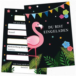 25 Lustige Einladungskarten Geburtstag Einladung Flamigo Beachparty Gartenparty Gartenfest Preisvergleich