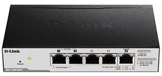 D-Link DGS-1100-05PD 5-Port Gigabit PoE-powered PoE Switch Preisvergleich