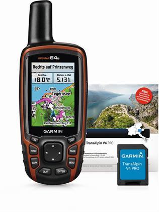 Garmin GPSMAP 64s inkl. TransAlpin V4 Pro (microSD Preisvergleich