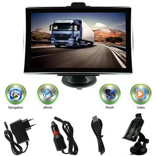 navigationsger t lkw pkw bus gps 7 zoll navi navigation. Black Bedroom Furniture Sets. Home Design Ideas