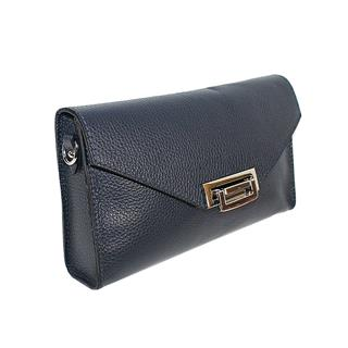 Leder Damen Handtasche Clutch Cira navy Preisvergleich