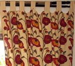 vorhang-gardine-1-paar-vorhaenge-gardinen-mit-schlaufen-handbedruckt-blumen-motiv-rot-baumwol-3311653-1.jpg