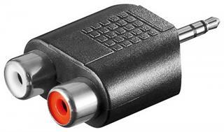 Audio-Adapter 3,5mm Stecker Stereo 2xCinchkupplung ,10er Pack Preisvergleich