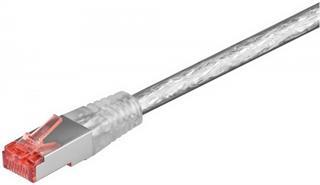 CAT 6 Netzwerkkabel LS0H S/FTP 2x RJ 45, 25m transparent Preisvergleich