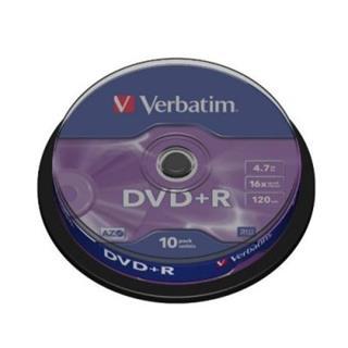 DVD+R Verbatim 43498 4.7 GB 16x 10 pcs Preisvergleich