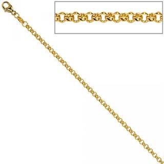 Erbskette 333 Gelbgold 2,5 mm 50 cm Gold Kette Halskette Goldkette Karabiner Preisvergleich