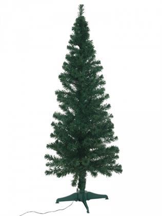 EUROPALMS Tannenbaum Fiber LED, 180 cm, grün (Kunstpflanze Preisvergleich
