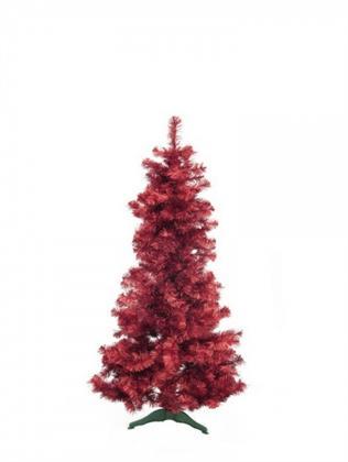 EUROPALMS Tannenbaum FUTURA, rot-metallic, 180cm, Kunstpflanze Preisvergleich