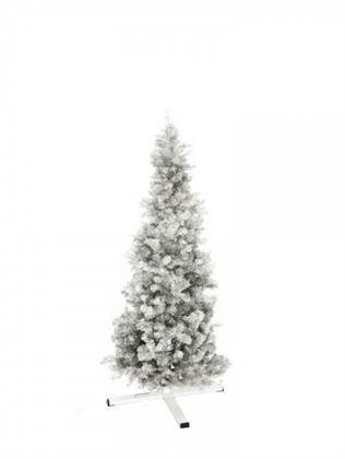 EUROPALMS Tannenbaum FUTURA, silber-metallic, 180cm, Kunstpflanze Preisvergleich
