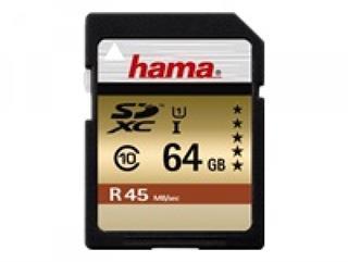 Hama - Flash-Speicherkarte - 64 GB - Class 10 - SDXC UHS-I Preisvergleich