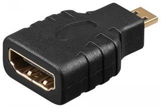 HDMI™ Adapter, vergoldet, HDMI™ Buchse (Typ A) > HDMI™ micro Stecker (Typ D Preisvergleich