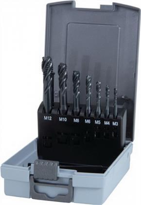 Maschinengewindebohrer DIN371/376-35Grad M3-M12 HSS-Co-VAP Ku.-Kassette Preisvergleich