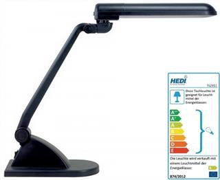 Schreibtischleuchte 11W Kabel-L.1,5m H03VV-F 2x0,5mm2 HEDI Röhre IP20/II Preisvergleich