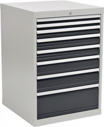 Schubladenschrank H1019xB705xT736 grau/anthr. 2x50 1x75 2x100 1x125 1x150 1x250 Preisvergleich
