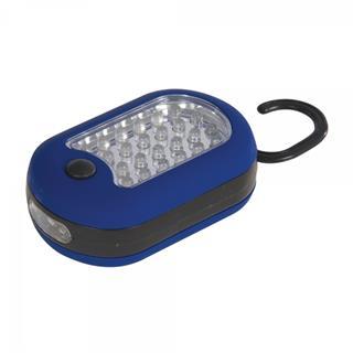 Silverline LED- Multifunktionslampe, 27 LEDs, 95 mm Preisvergleich