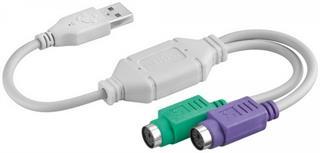 USB auf PS/2 Konverter / Adapter USB A Stecker 2xPS/2 Buchse Preisvergleich