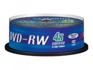 Verbatim - 25 x DVD-RW - 4.7 GB (120 Min.) 4x - mattes Silber - Spindel Preisvergleich
