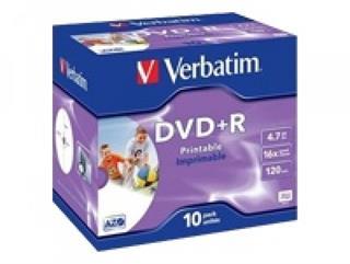 Verbatim DataLifePlus - 10 x DVD+R - 4.7 GB 16x - mit Tintenstrahldrucker bedruckbare Ober Preisvergleich