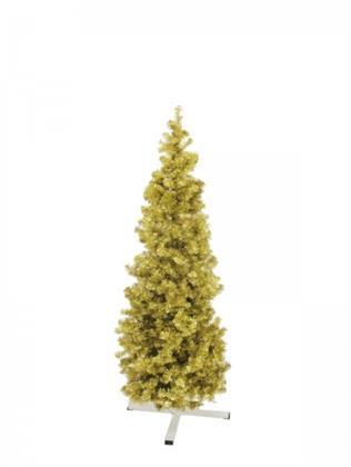 EUROPALMS Tannenbaum FUTURA, gold-metallic, 180cm Preisvergleich