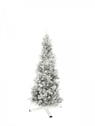 EUROPALMS Tannenbaum FUTURA, silber-metallic, 180cm Preisvergleich