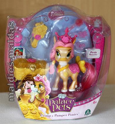 Palace Pets Primp & Pamper Pony Petit Suzette Disney Princess. Preisvergleich