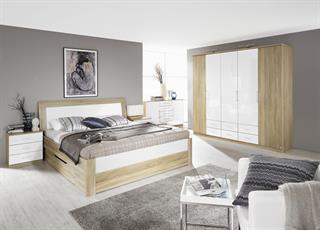 komplett-schlafzimmer arona (4-teilig) versch. bett- & schrankgrößen ...
