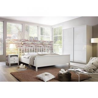 Komplett-Schlafzimmer MARIT II (4-teilig) 160er Bett / 225er Schrank ...
