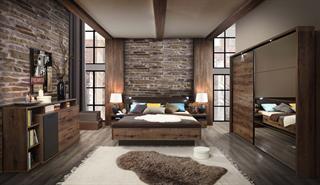 schlafzimmer komplett jackson 5-teilig günstig kaufen | smartvie