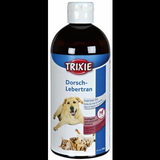 Trixie Dorsch-Lebertran, Hund/Katze 4 x 500 ml - Vorteilspackung Preisvergleich