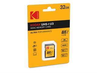 SDHC 32GB Kodak CL10 UH1 U3 Ultra 95MB/s Blister Preisvergleich