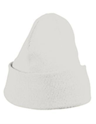 Beanie Mütze Winter Pudel Bommel myrtle beach Knitted Cap  OffWhite One Size Preisvergleich