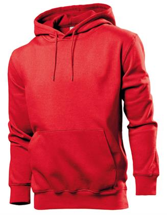 Sweatshirt Hoodie Kapuzenpulli Stedman® Hooded Sweatshirt  Scarlet Red XXL Preisvergleich