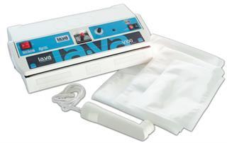 Lava LV100 Premium Vakuumierer + Schneidevorrichtung + 2 Vakuumrollen + Startset + Absaugv Preisvergleich