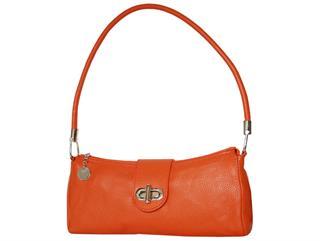 Damentasche Ledertasche Handtasche Farbe Orange aus echtem Leder Preisvergleich